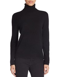 Lord And Taylor Cashmere Turtleneck Sweater Black