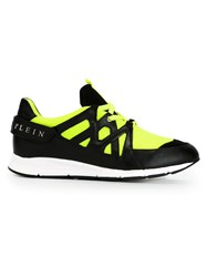Philipp Plein 'Neon Fence' Sneakers Black