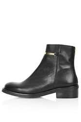 Topshop Arther Ankle Boots Black