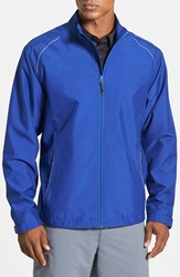 Men's Cutter And Buck 'Beacon' Weathertec Wind And Water Resistant Jacket Tour Blue
