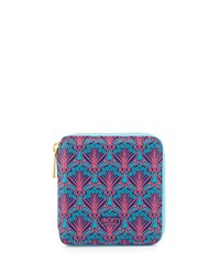 Patch Small Square Zip Wallet Multicolor Multi Colors Liberty London