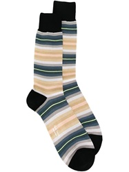 Paul Smith Striped Socks Multicolour