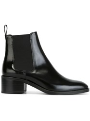 Each X Other Low Chunky Heel Chelsea Boots Black