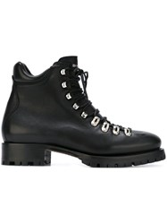 Dsquared2 Lace Up Walking Boots Black