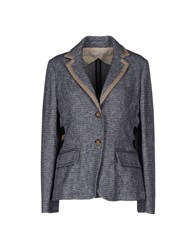 Jucca Suits And Jackets Blazers Women Dark Blue