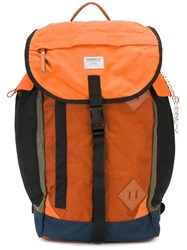 Sandqvist 'Edmund' Backpack Yellow Orange