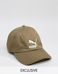 Puma Cap In Green Exclusive To Asos Green