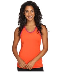 Skirt Sports Free Flow Tank Top Razz Sundance Women's Sleeveless Orange