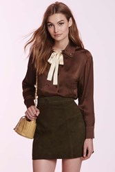 Nasty Gal Vintage Chanel Berenice Silk Blouse