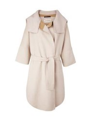 By Malene Birger Marocca Stripe Detail Coat Beige
