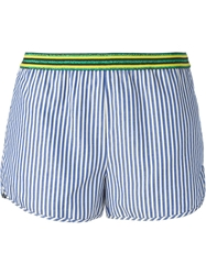 Mauro Grifoni Striped Mini Shorts