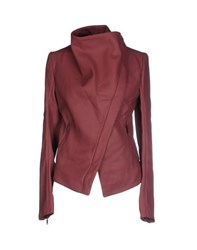 Gareth Pugh Coats And Jackets Jackets Women Maroon