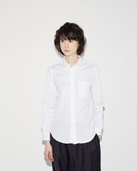 Fwk Engineered Garments Short Collar Shirt White