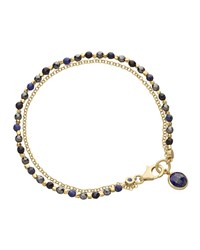Be Very Mysterious Beaded Friendship Bracelet Astley Clarke Blue
