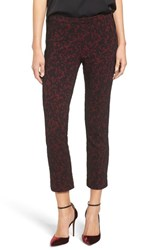 Michael Michael Kors Women's Umbria Lace Jacquard Crop Cigarette Pants