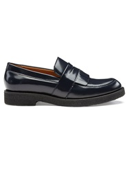 Whistles Kalo Fringe Loafer Navy