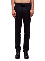 Raf Simons Sterling Ruby Mens Narrow Fit Pants With Elasticated Waistband Ln Cc