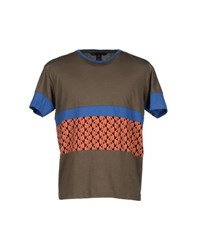 Marc By Marc Jacobs Topwear T Shirts Men Military Green