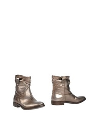 Fru.It Fru. It Ankle Boots Bronze