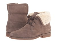 Hush Puppies Marthe Cayto Gunsmoke Suede Women's Pull On Boots Gray