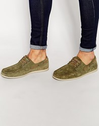 Jack And Jones Jack And Jones Singapore Boat Shoes Green