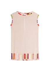 Missoni Mare Crochet Knit Tunic Multicolor