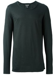 Tony Cohen Classic Long Sleeve T Shirt Green