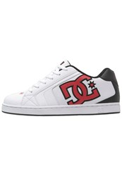 Dc Shoes Net Skater Shoes White Athletic Red Armor