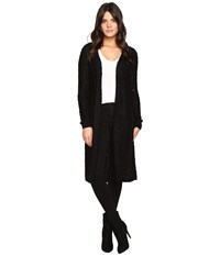 Only New Zadie Long Cardigan Black Women's Sweater