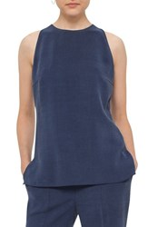 Akris Punto Women's Cutout Back Sleeveless Top