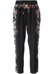 Lily And Lionel Lily And Lionel 'Sirena' Floral Print Trousers
