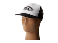 Vans Classic Patch Trucker White Black Caps