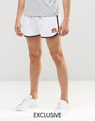 Ellesse Retro Shorts White