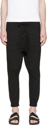 Alexandre Plokhov Black Cropped Kango Lounge Pants