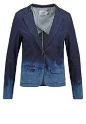 Denim Hunter Blazer Dark Denim Blue