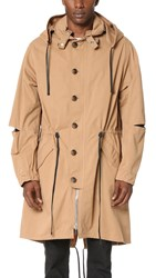 3.1 Phillip Lim Hooded Parka Khaki