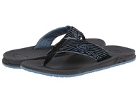 Reef Phantom Prints Blue Zig Zag Men's Sandals Multi