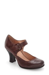 Miz Mooz Women's Kora Pump Wine Leather