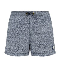 North Sails Logo Print Swim Shorts Male Navy