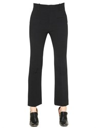 Chloe Flared Crepe Sable Pants