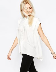 Rvca Sleeveless Shirt White