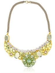 Ortys Broche Green Necklace