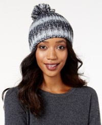 Inc International Concepts Binded Spacedye Hat Only At Macy's Black