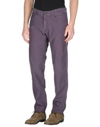Seventy Casual Pants Dark Purple
