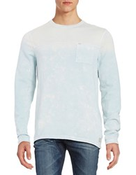 Calvin Klein Jeans Beach Punk Crewneck Long Sleeve Shirt Blue