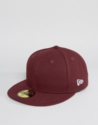 New Era 59Fifty Cap Fitted Logo Purple