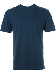 Blk Dnm Crew Neck T Shirt Blue