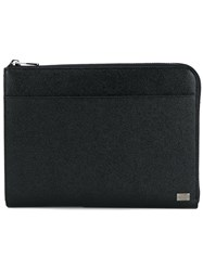 Dolce And Gabbana Classic Laptop Case Black