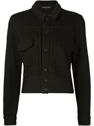 Alexandre Plokhov Cropped Jacket Black