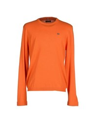 Napapijri Knitwear Jumpers Men Orange